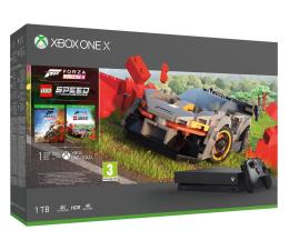 Konsola Xbox Microsoft Xbox One X 1TB + Forza Horizon 4 + LEGO DLC
