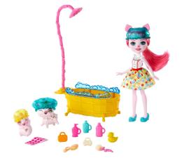 Lalka i akcesoria Mattel Enchantimals Harvest Hills Radosna Kąpiel Świnek