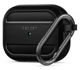 Etui na słuchawki Spigen Rugged Armor do Apple AirPods Pro czarne