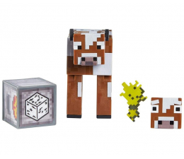 Figurka Mattel Minecraft Comic Maker Krowa