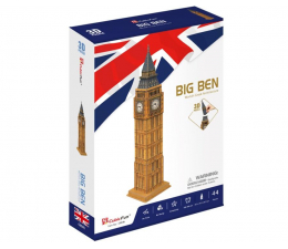 Puzzle do 500 elementów Cubic fun Puzzle 3D XL Big Ben