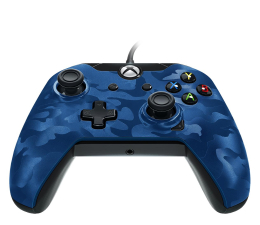Pad PDP Xbox One Controller - Delux Camo Blue (przew.)