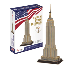 Puzzle do 500 elementów Cubic fun Puzzle 3D Empire State Building