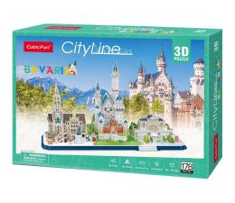 Puzzle do 500 elementów Cubic fun Puzzle 3D City Line Bawaria