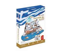 Puzzle do 500 elementów Cubic fun Puzzle 3D Santorini duży zestaw