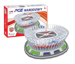 Puzzle do 500 elementów Cubic fun Puzzle 3D XL Stadion PGE Narodowy