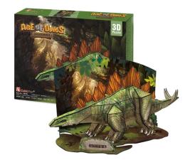 Puzzle do 500 elementów Cubic fun Puzzle 3D Dinozaury Stegozaur