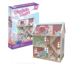 Puzzle do 500 elementów Cubic fun Puzzle 3D Domek dla lalek Pianist's Home
