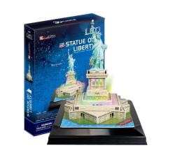 Puzzle do 500 elementów Cubic fun Puzzle 3D Statua Wolności LED