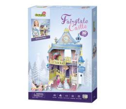 Puzzle do 500 elementów Cubic fun Puzzle 3D Domek dla lalek Fairytaile Castle