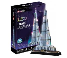Puzzle do 500 elementów Cubic fun Puzzle 3D Wieżowiec Burj Khalifa