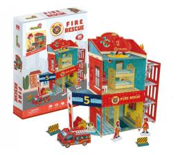 Puzzle do 500 elementów Cubic fun Puzzle 3D Straż pożarna