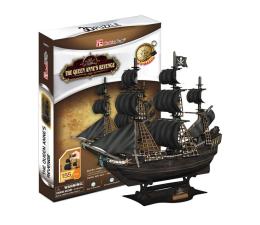Puzzle do 500 elementów Cubic fun Puzzle 3D Okręt Zemsta królowej Anny
