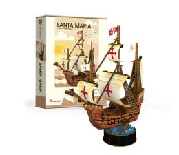 Puzzle do 500 elementów Cubic fun Puzzle 3D Żaglowiec Santa Maria
