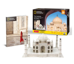 Puzzle do 500 elementów Cubic fun Puzzle 3D National Geographic Taj Mahal