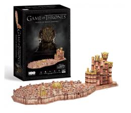 Puzzle do 500 elementów Cubic fun Puzzle 3D Game of Thrones Królewska Przystań