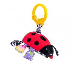 Zabawka dla małych dzieci Dumel BaliBaZoo Zawieszka Biedronka z Wibracją 80171