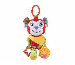 Zabawka dla małych dzieci Dumel BaliBaZoo Zawieszka Małpka Mateo 83269