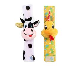 Zabawka dla małych dzieci Dumel Grzechotki na Rączkę Farma 85684