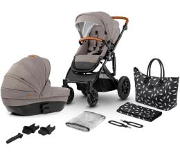 Wózek dziecięcy wielofunkcyjny Kinderkraft Prime 2w1 Beige z torbą Mommy Bag