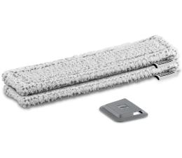 Akcesoria do myjek i mopów Karcher Pad z mikrofibry do WV szary (na zewnątrz)