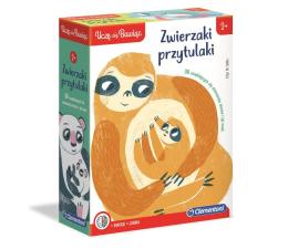 Puzzle do 500 elementów Clementoni Puzzle Uczę się bawiąc - Zwierzaki Przytulaki