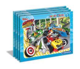 Puzzle dla dzieci Clementoni Puzzle Puzzle ramkowe Mickey i Rajdowcy 15 elementów