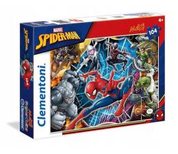 Puzzle dla dzieci Clementoni Puzzle Spider-man 104 el.