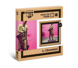 Puzzle do 500 elementów Clementoni Puzzle Frame me Up - Żyć szybciej