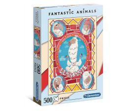 Puzzle 500 - 1000 elementów Clementoni Puzzle Fantastic Animals Llamaste