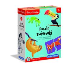 Puzzle do 500 elementów Clementoni Puzzle Uczę się bawiąc - Puzzle Zwierzaki 2, 3, 4 el.