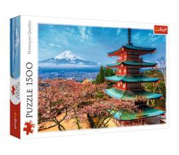 Puzzle 1000 - 1500 elementów Trefl Góra Fudżi