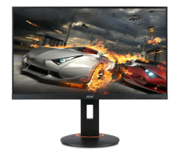 "Monitor LED 24"" Acer XF250QCBMIIPRX czarny 240Hz"