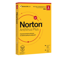 Program antywirusowy NortonLifeLock Antivirus Plus 1st. (12m.)