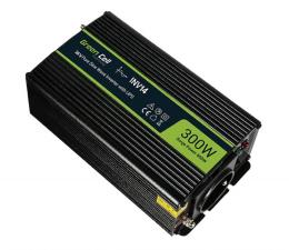 Przetwornica samochodowa Green Cell Przetwornica napięcia 24V na 230V 300W/600W