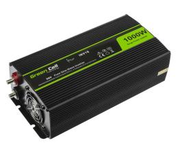 Przetwornica samochodowa Green Cell Przetwornica napięcia 24V na 230V 1000W/2000W