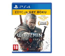 Gra na PlayStation 4 PlayStation Wiedźmin 3: Dziki Gon - Edycja Gry Roku