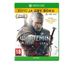Gra na Xbox One Xbox Wiedźmin 3: Dziki Gon - Edycja Gry Roku