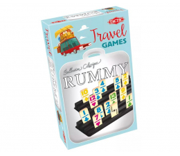 Gra planszowa / logiczna Tactic Rummy Travel - wersja podróżna