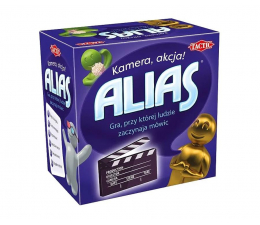 Gra słowna / liczbowa Tactic Snack Alias: Kamera, akcja!
