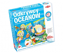 Gra dla małych dzieci Tactic Story Games: Odkrywcy oceanów