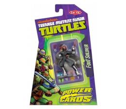 Gra karciana Tactic Turtles Power Cards - gra z figurką Foot Soldier
