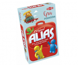 Gra słowna / liczbowa Tactic Alias Original - wersja podróżna