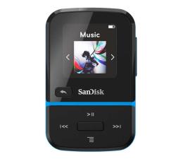 Odtwarzacz MP3 SanDisk Clip Sport Go 32GB niebieski