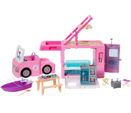 Lalka i akcesoria Barbie Kamper 3w1