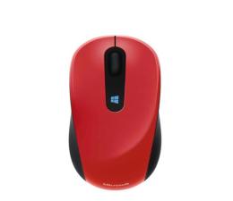 Myszka bezprzewodowa Microsoft Sculpt Mobile Mouse (czerwona)
