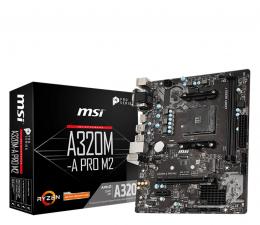 Płyta główna Socket AM4 MSI A320M-A PRO M2
