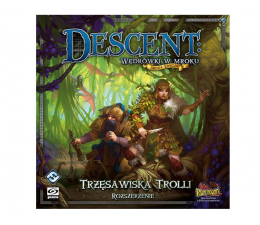 Gra planszowa / logiczna Galakta Descent: Wędrówki w mroku – Trzęsawiska Trolli