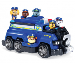 Pojazd / tor i garaż Spin Master Psi Patrol Zespół Chase'a + 6 figurek