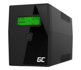 Zasilacz awaryjny (UPS) Green Cell UPS (800VA/480W, 2x Schuko, AVR, LCD)